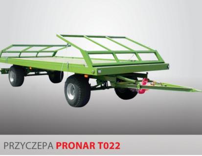 PRONAR Przyczepa  MODEL T022 11t