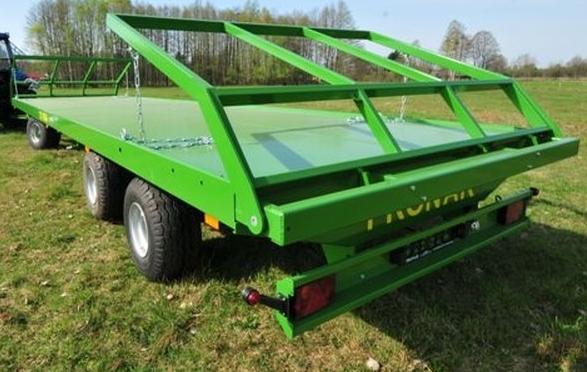 PRONAR Przyczepa  MODEL T023M 16t