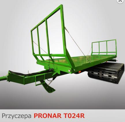 PRONAR Przyczepa MODEL T024R 13t