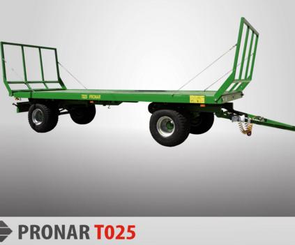 PRONAR Przyczepa  MODEL T025 13t