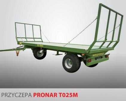 PRONAR Przyczepa  MODEL T025M 13t