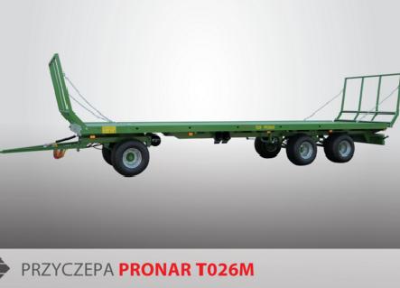 PRONAR Przyczepa  MODEL T026M 19t