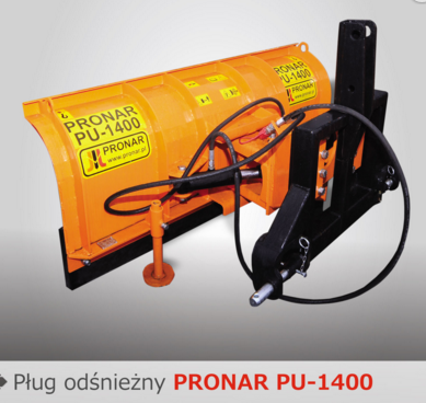 PRONAR Pług odśnieżny MODEL PU-1400