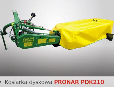 PRONAR Kosiarka dyskowa  PDK210