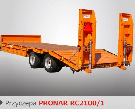 PRONAR Przyczepa  MODEL RC2100/1 19t