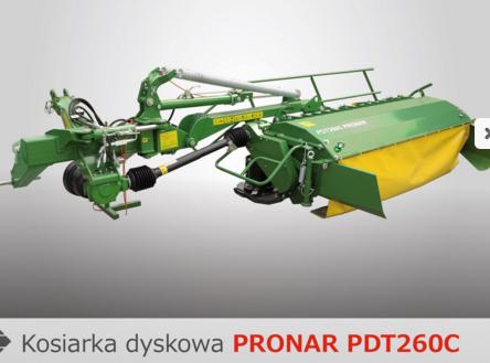 PRONAR Kosiarka dyskowa  PDT260C