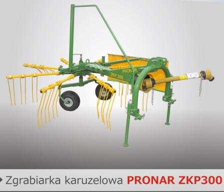 PRONAR Zgrabiarka karuzelowa ZKP300