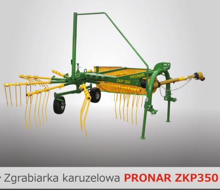 PRONAR Zgrabiarka karuzelowa ZKP350