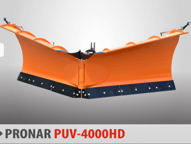 PRONAR Pług odśnieżny MODEL PUV-4000HD