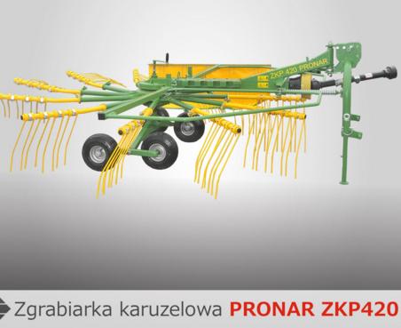 PRONAR Zgrabiarka karuzelowa ZKP420
