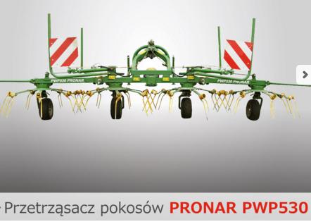 PRONAR Przetrząsacz pokosów PWP530