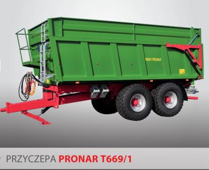PRONAR Przyczepa  MODEL T669/1 wywrót 3-stronny 20t