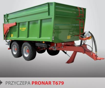 PRONAR Przyczepa  MODEL T679 16t