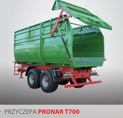 PRONAR Przyczepa  MODEL T700 21t