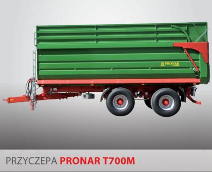 PRONAR Przyczepa  MODEL T700M 23t