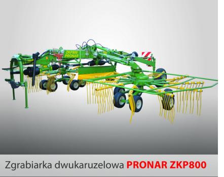 PRONAR Zgrabiarka dwukaruzelowa ZKP800
