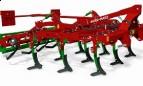 AGRO-MASZ Agregat podorywkowy z zabezpieczeniem resorowym MODEL APR30, Szerokosć 3,0m