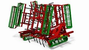 AGROMASZ Agregat uprawowy MODEL AU36, AU42, AU50, AU56 Szerokość 3,6-5,6 m