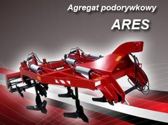 AGRO-FACTORY Agregat podorywkowy MODEL ARES Szerokość 2,2-4,7m