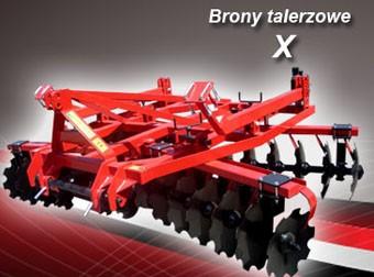 AGRO-FACTORY Brony talerzowe MODEL X