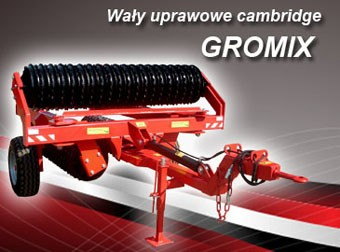 AGRO-FACTORY Wały uprawowe cambridge Gromix