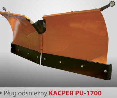 PRONAR Pługi odśnieżne MODEL Kacper PU-1700 i MODEL Kacper PU-2100