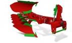 AGRO-MASZ Pług obracalny z zabezpieczeniem hydraulicznym POR3, POR4, POR5