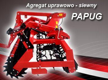 AGRO-FACTORY AGREGAT MODEL Papug Szerokość 2,7-3,0m