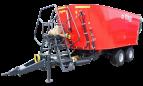 METAL-FACH Wóz paszowy dwuwirnikowy typu tandem T659 BEL-MIX poj. 14-22m3