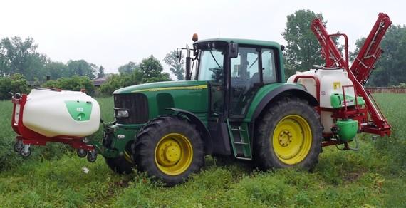 BURY Opryskiwacze zawieszane serii PERKOZ MAX 1300 1600 1900