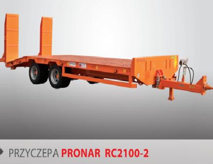 PRONAR Przyczepa  MODEL RC2100/2 19t