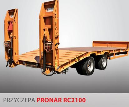 PRONAR Przyczepa  MODEL RC2100 19t