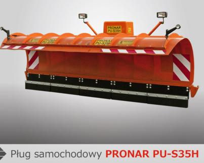 PRONAR Pługi samochodowe MODEL PU-S25H, PU-S32H, PU-S35H