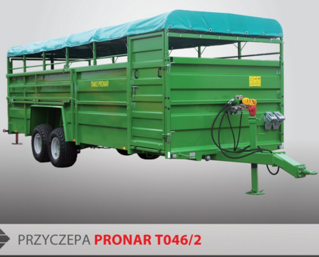 PRONAR Przyczepa  MODEL T046/2 12t