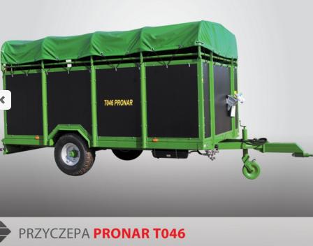 PRONAR Przyczepa  MODEL T046 5,5t