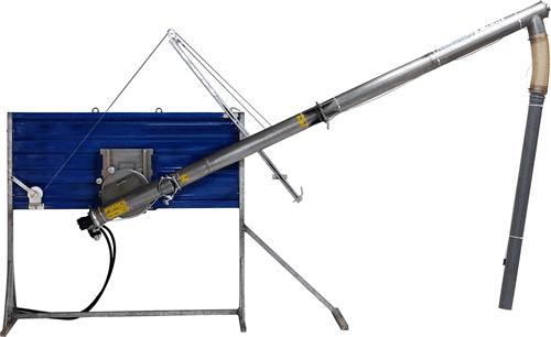 POM-Augustów Przenośnik ślimakowy o napędzie hydraulicznym T 458