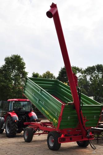 POM-Augustów Przenośnik ślimakowy o napędzie hydraulicznym T 461