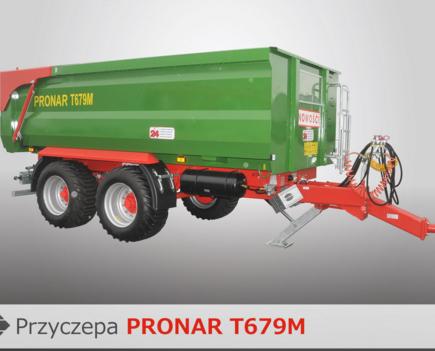 PRONAR Przyczepa  MODEL T679M 16,2t
