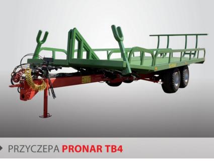 PRONAR Przyczepa  MODEL TB4 10t