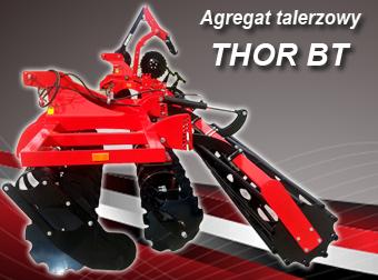 AGRO-FACTORY Agregat Talerzowy MODEL  THOR BT Szerokość 3,0-6,0m