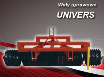 AGRO-FACTORY Wały uprawowe cambridge UNIVERS