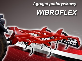 AGRO-FACTORY Agregat podorywkowy MODEL Wibroflex